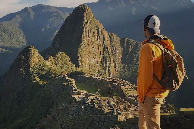 machu picchu from other view