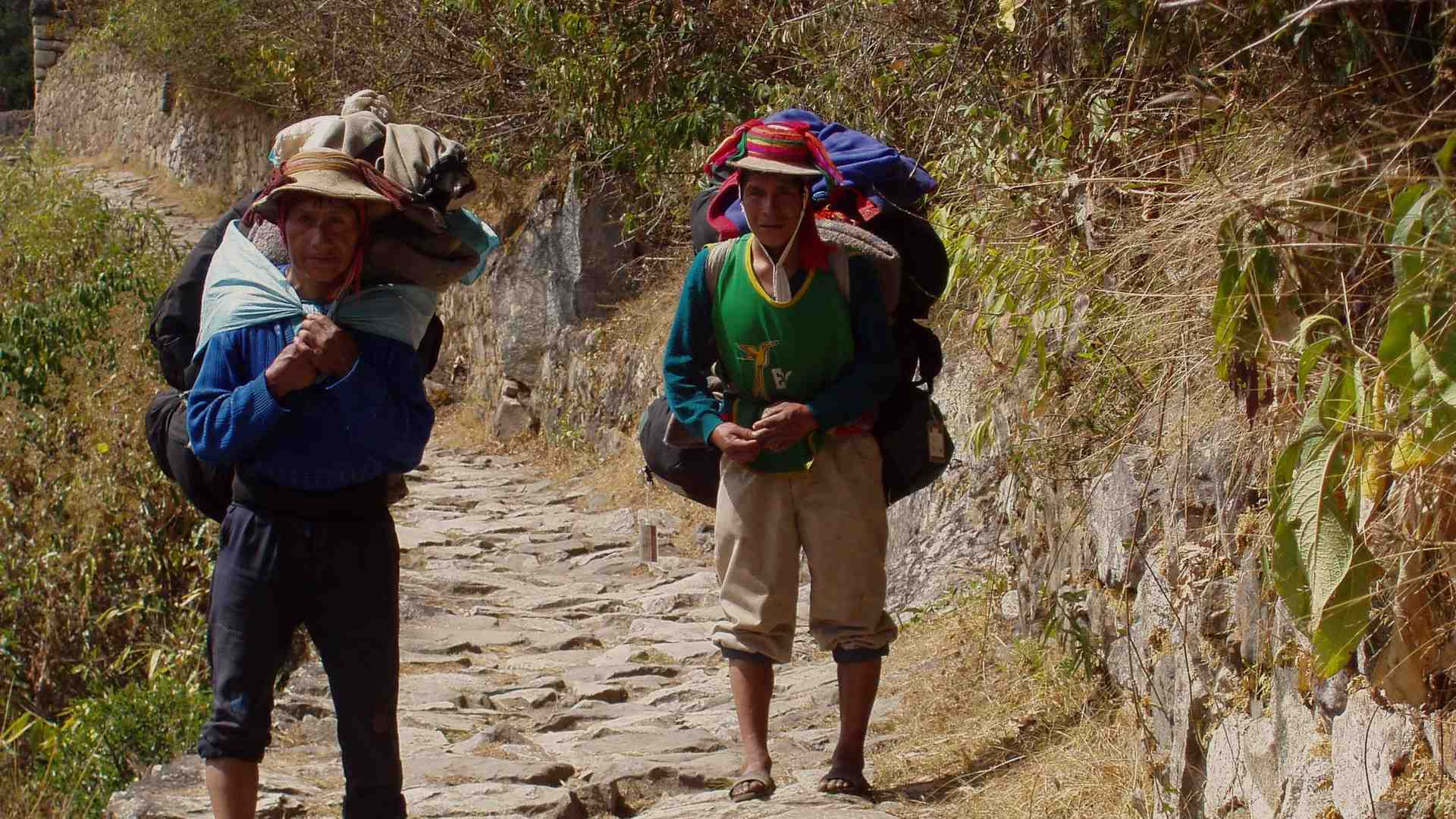porters during inca trail